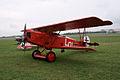 Fokker DVII Ernst Udet LSideFront hangars Dawn Patrol NMUSAF 26Sept09 (14413330249).jpg