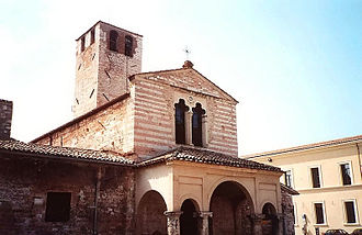Foligno - Church of Santa Maria Infraportas