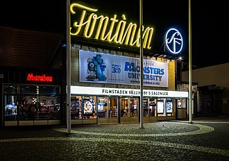 Cinema of Sweden - A movie theater in Vällingby