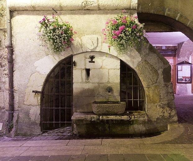 Monument historique à Annecy