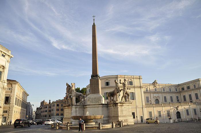 Fontana dei Dioscuri, Roma
