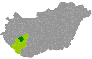 Fonyód District Districts of Hungary in Southern Transdanubia