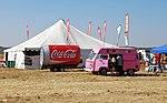 Food tent, Coca-Cola trailer and Ice cream van, Vereeniging.jpg