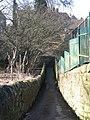 Footpath crossing Halgut Burn - geograph.org.uk - 1762754.jpg