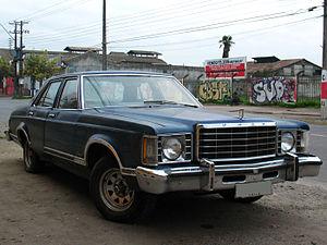 Ford Granada (North America) - Image: Ford Granada Ghia 1977 (14603470248)