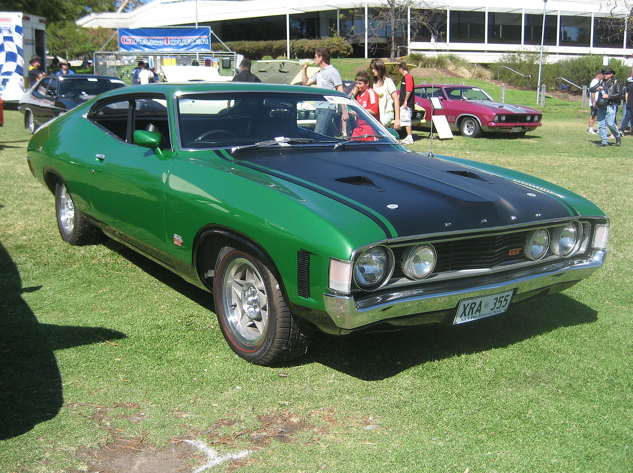 Ford Emerald Green Paint