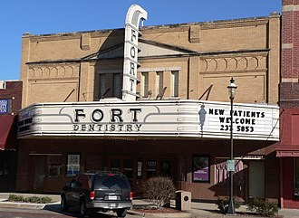 National Register of Historic Places listings in Buffalo County, Nebraska - Image: Fort Theater 2