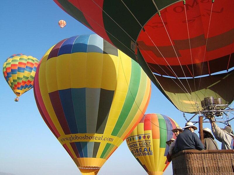 Viaje en globo en Wadi Rum