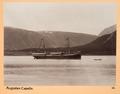 Fotografi på ångbåten Capella - Hallwylska museet - 104314.tif