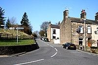Foulridge, Lancashire - Barnoldswick Road - geograph.org.uk - 1802443.jpg