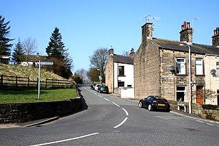 Foulridge civil parish in England