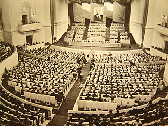 Revolutions of 1989 - The fourth congress of the Polish United Workers' Party, held in 1963.