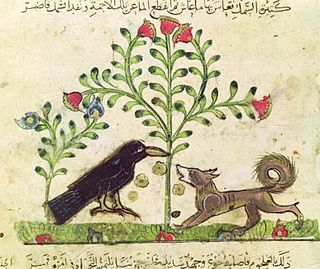 The Fox and the Crow (Aesop) fable