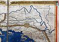 Francesco Berlinghieri, Geographia, incunabolo per niccolò di lorenzo, firenze 1482, 12 alpi, panonia, dalmazia 03 illiria.jpg