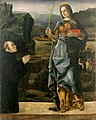 Francesco del Cossa, St. Justina and Donor, ca. 1470, 43.8 x 33.7 cm, Chazen Museum of Art, University of Wisconsin-Madison, Madison, WI.jpg