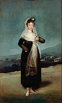 Francisco José de Goya y Lucientes (Francisco de Goya) (Spanish - Portrait of the Marquesa de Santiago - Google Art Project.jpg