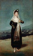 Portrait of the Marquesa de Santiago