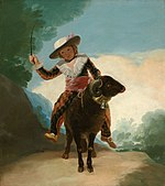 Francisco José de Goya y Lucientes - Boy on a Ram - 1979.479 - Art Institute of Chicago.jpg