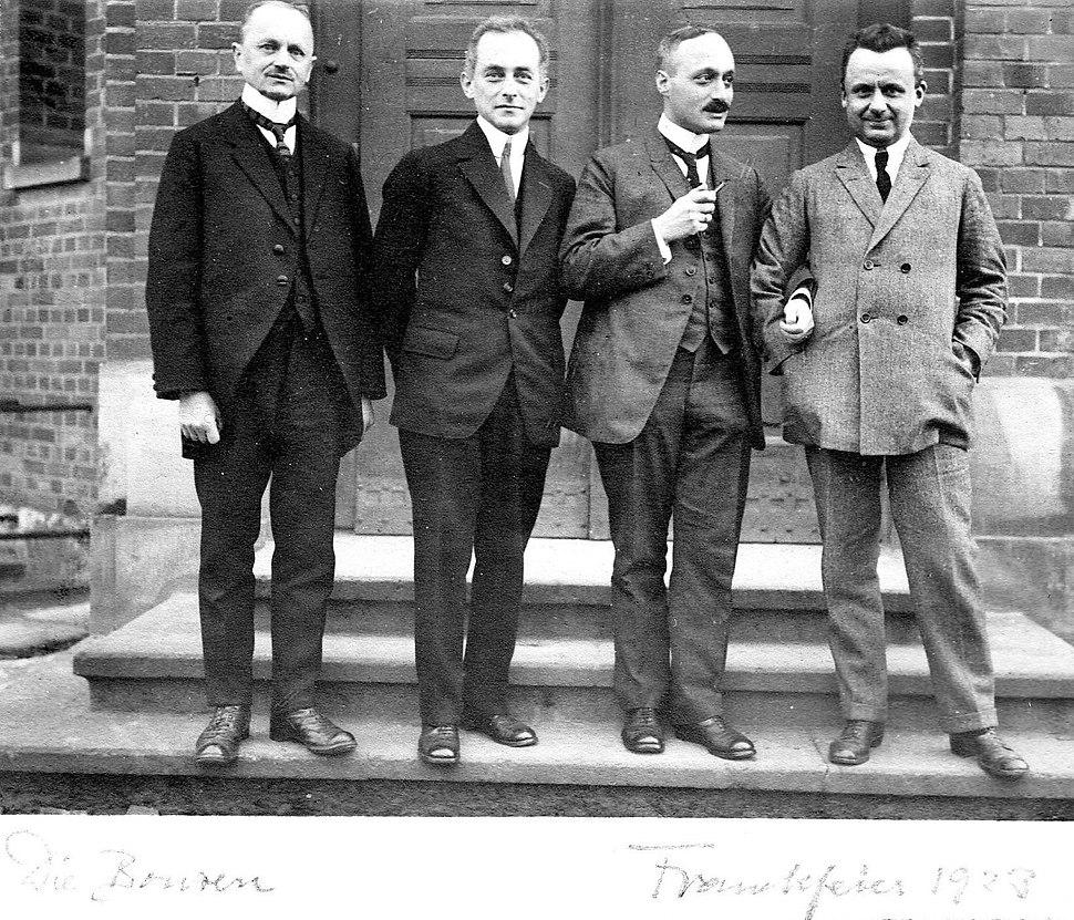 Franckfeier 1923 Die Bonzen