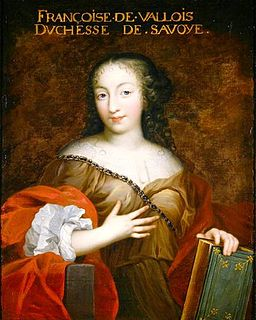 Francoise Madeleine d'Orleans (1648-1664) Duchess of Savoy, French school.jpg