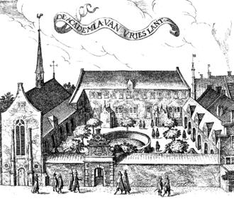 Petrus Camper - The Academia van Vrieslant in Franeker