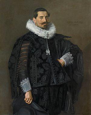 Aletta Hannemans - Image: Frans Hals Portrait of Jacob Olycan Mauritshuis 459