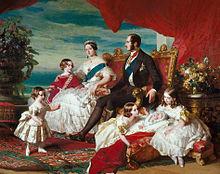 Die königliche Familie (Gemälde von Winterhalter, 1846) (Quelle: Wikimedia)