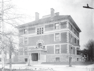 Hornblower & Marshall - Fraser Mansion, completed 1890
