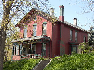 Frederick G. Clausen - Frederick G. Clausen House on West Sixth Street