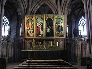 High altar of Freiburg Minster