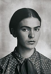 Frida Kahlo, by Guillermo Kahlo 2.jpg