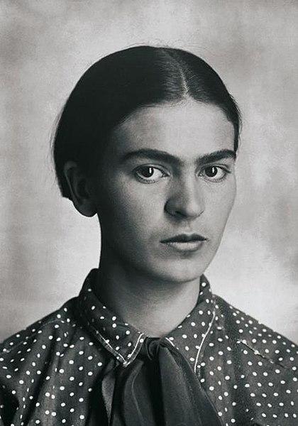 File:Frida Kahlo, by Guillermo Kahlo 2.jpg
