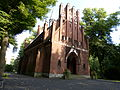 Friedenstr. 14 Kapelle Kirchhof Mariendorf II.JPG