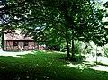 Friedhof Ihinger Hof mit Gräbern aus dem 18. bis 20. Jahrhundert. Die ältesten sind von Moriz Siegfried von Leiningen (1703-1782) und von seiner Mutter Amalie Hedweg geb. von Donop (1684-1765), einer Enkelin des Heinri - panoramio (2).jpg