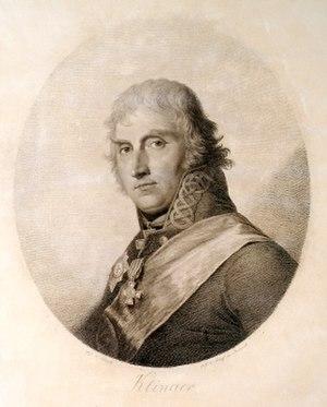 Friedrich Maximilian Klinger - Klinger in an 1807 etching by Karl August Senff
