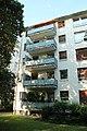 Fritz Bauers Wohnhaus in FFM. Balkon im 3. OG (fcm).jpg
