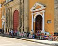 Front of Cartagena Colombia Old Town Cathedral.jpg