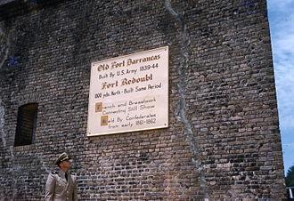 Fort Barrancas - Commemorative plaque (1956)