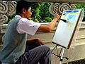 Fu-Hsin Trade & Arts School student drawing 20031009.jpg