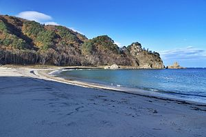 Fudai, Iwate - Fudaihama coastline