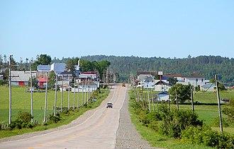 Fugèreville, Quebec - Image: Fugereville QC
