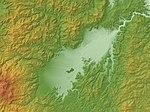Fukushima Basin Relief Map, SRTM-1.jpg