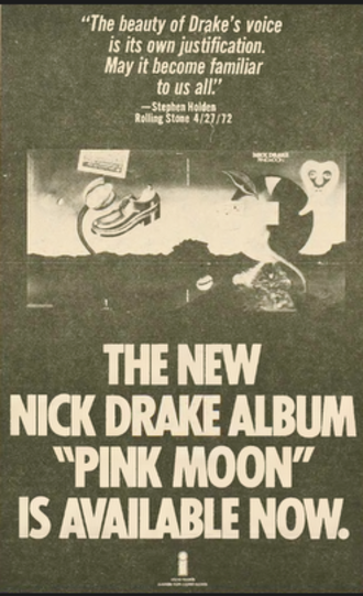 Pink Moon - Image: Full Page Promotion of Pink Moon