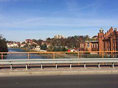 Görlitz Blick von der Stadtbrücke über die Neiße nach Norden.JPG