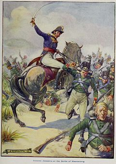 G.S. Smithard; J.S. Skelton (1909) - General Janssens at the Battle of Blaauwberg.jpg