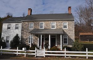 Alpha, New Jersey - George Hunt House