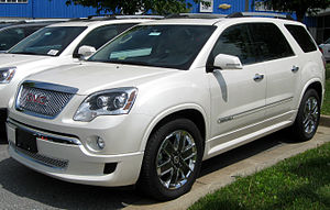 GMC Acadia - First generation 2011 GMC Acadia Denali