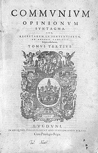 Gabrieli, Antonio – Communium opinionum syntagma, 1581 – BEIC 11072467.jpg