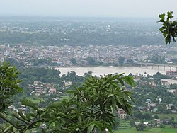 باراتپور، نپال city view from Maula Kalika temple Gaindakot