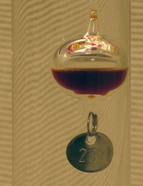 File:Galileo Thermometer detail.jpg